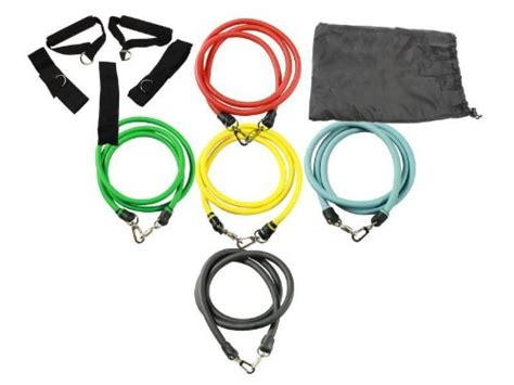 variable resistance band exercise variable resistance band 5 level set exercise bike