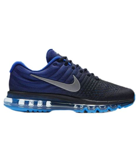 Nike Air Max Blue nike air max 2017 blue running shoes buy nike air max