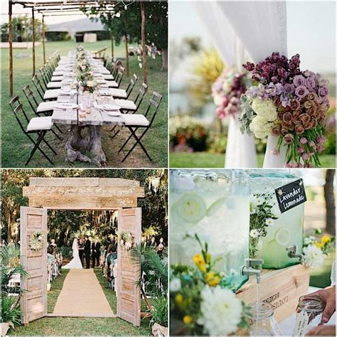 Simple Outdoor Decorations by Triyae Simple Backyard Wedding Decorations Various