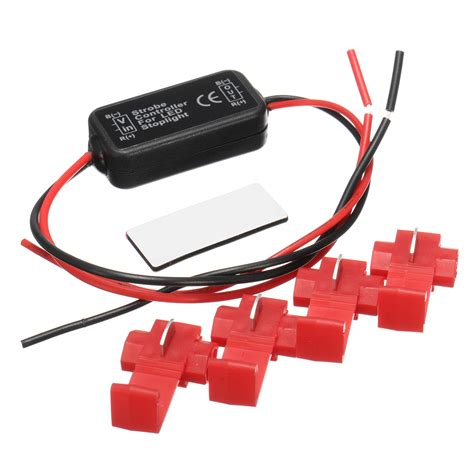 brake light flasher module 20w led brake stop strobe light flash flasher module