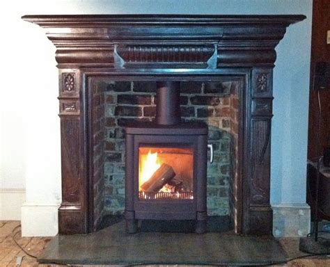 Log Surrounds 25 Best Ideas About Slate Fireplace Surround On