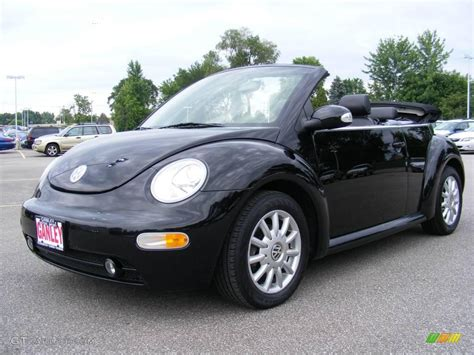 volkswagen convertible black volkswagen beetle black convertible