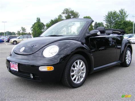 black volkswagen beetle 2005 uni black volkswagen beetle gls convertible