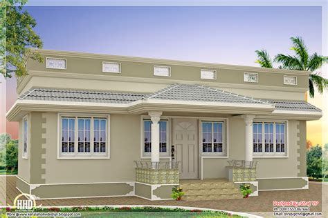 single floor house plans in kerala kerala home design kerala single floor house 1 bedroom