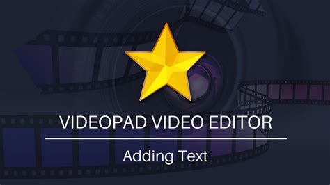 Videopad Tutorial Text | add text to videos videopad video editor tutorial youtube