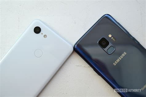 pixel 3 vs samsung galaxy s9 which small ish phone is right for you android authority
