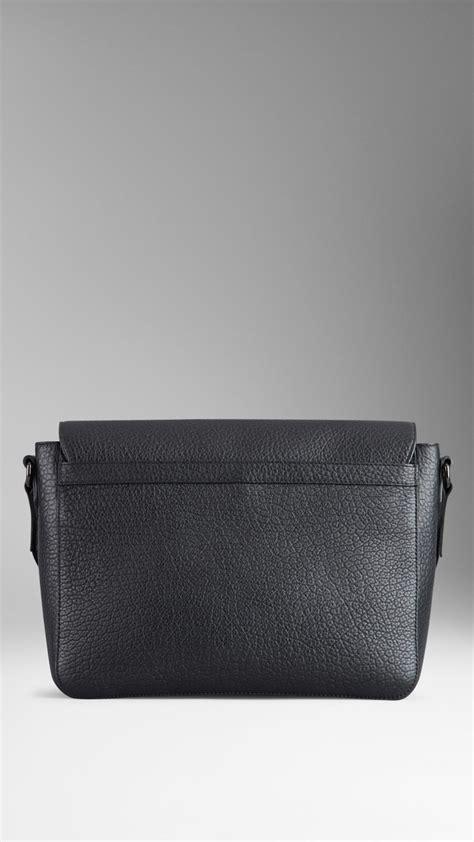 Signature Wilbury Messenger Bag by Burberry Small Signature Grain Leather Messenger Bag In