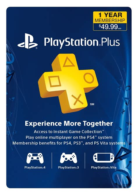 1 Year Membership get a 1 year ps plus subscription for less than 38