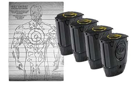 Cartridge Refil Taser Gun taser c2 air cartridges 4 pk w trgt