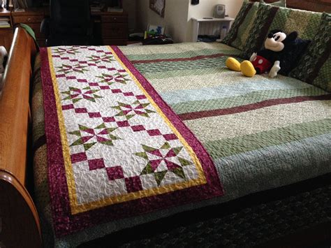 Patchwork Bed Runner Patterns - fall jubilee bed runner quilt cabana patterns