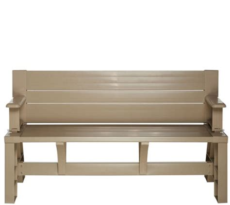 convert bench convert a bench basic color outdoor 2 in 1 bench to table