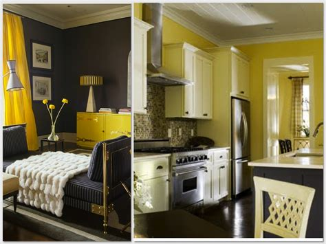 yellow and gray bedroom tjihome