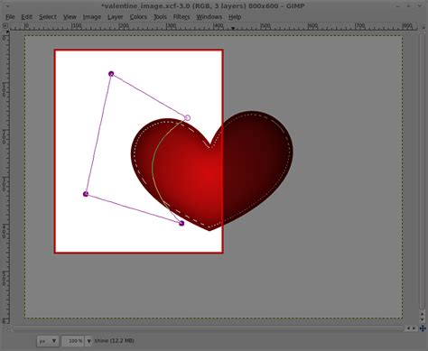 typography heart tutorial gimp tutorial just in time for valentines you the designer