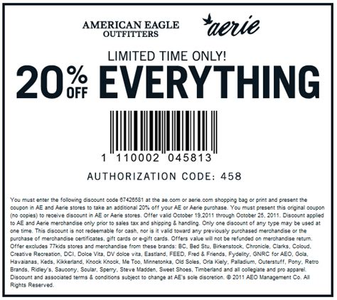 American Eagle Online Gift Card - american eagle online coupon codes coupon valid