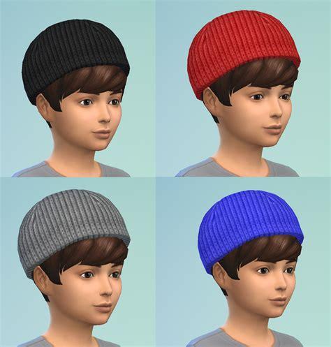 sims 4 beanie mod the sims s3 beanie conversion unisex child to elder