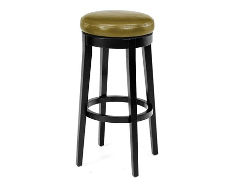 armen living backless wasabi swivel counter stool