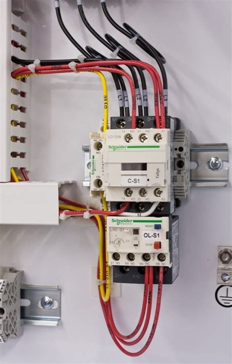 stunning electrical contactor connections photos