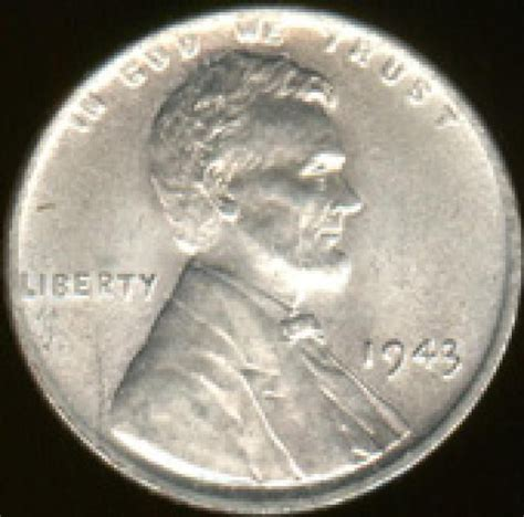 can you guess how much a 1943 penny is worth steel