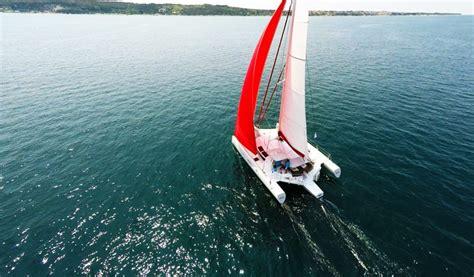 trimaran review boat review neel 45 trimaran