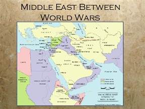 middle east map pre world war middle east since wwi