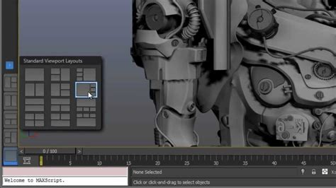 3ds max viewport layout tab 3ds max and 3ds max design 2013 tabbed layouts youtube