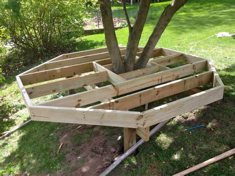backyard woodworking projects diy build your kids a play castle hometalk