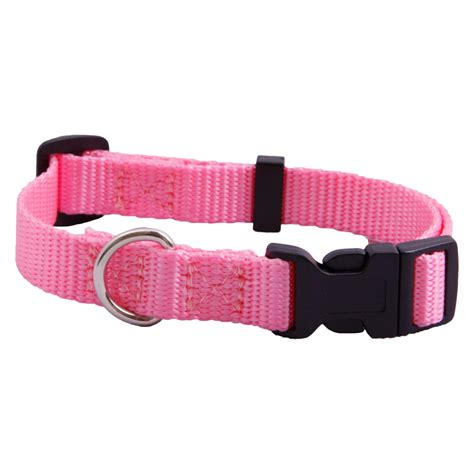 pink collars ac adjustable pink collar national webbing products