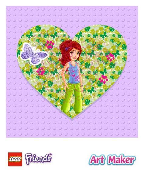 lego friends card template lego friends maker app review apppicker