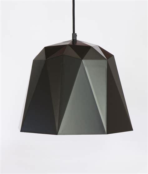 Geometric Pendant Light Osaka Black Geometric Pendant Lights