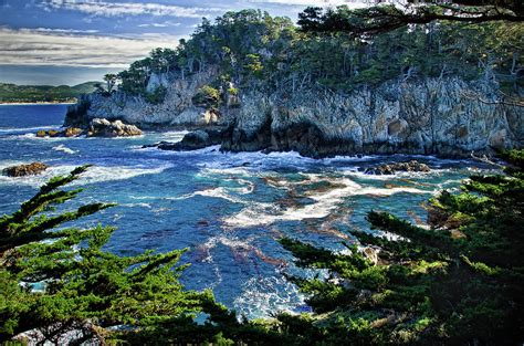 Luxury Home Plans Online point lobos photograph by ron white
