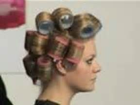 how to put rollersin hair how to use rollers youtube