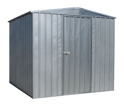 Galvanised Steel Shed by Sealey Galvanized Steel Garden Shed Garage Hut Gss2323