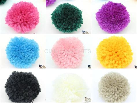 50 Pieces Wholesale Cotton Handmade 100 Images 28 Images - 100pcs of big yarn pom poms 50 mm mix color pom