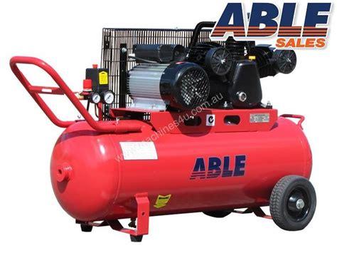 new able sales australia electric compressor 240volt 100lt 18cfm 115psi single phase compressor