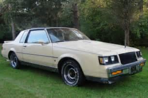 1987 Buick Regal T Type Specs 1987 Buick Regal Turbo T Wo2 T Type Grand