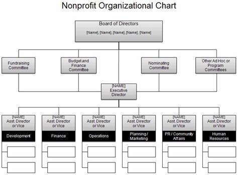 Non Profit Companies Section 25 by 25 Best Ideas About Organizational Chart Exles On