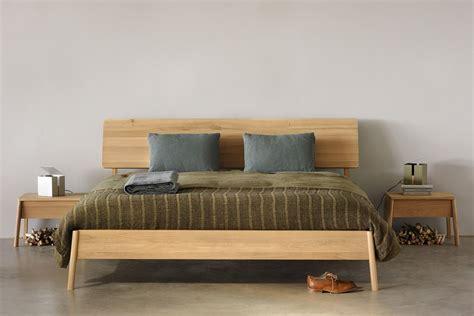 letto matrimoniale legno air letto matrimoniale ethnicraft con struttura in legno
