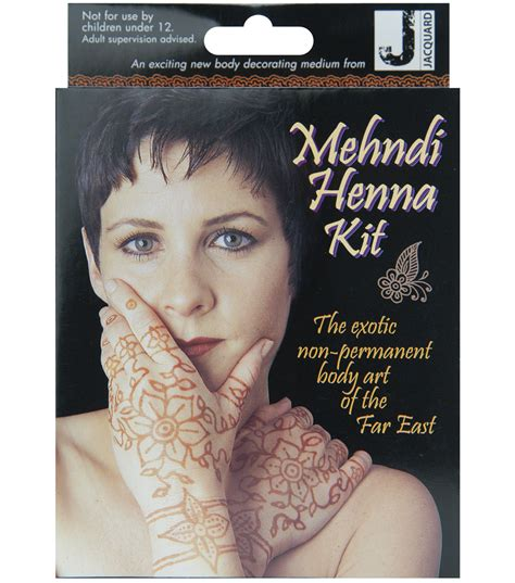 henna tattoo set jacquard mehndi henna kit henna kits joann