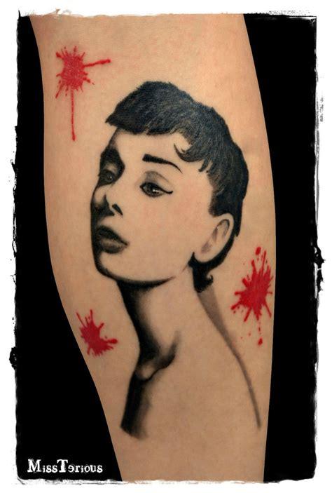 audrey hepburn tattoo hepburn by missteriousgermany on deviantart