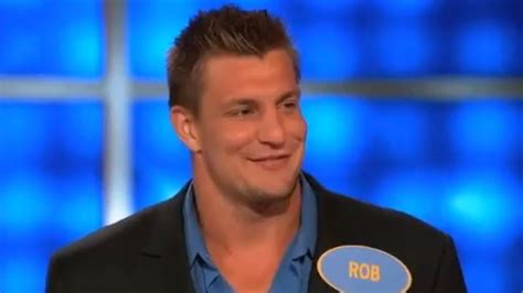 rob height rob gronkowski says he s a partying expert wins family
