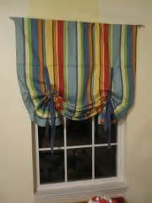 Curtains With Ribbon Ties Tutorial How To Sew A Roll Up Ribbon Tie Curtain Curtains Tutorials
