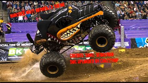 monster jam dog monster jam monster mutt rottweiler theme youtube