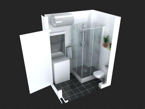 Formidable Salle De Bain Ikea Catalogue #2: Implantation-salle-de-bain-implantation-salle-de-bain-leroy-merlin-08100253-3d-3m2-4m2-5m2-9m2-sous-combles-pente-bains-lapeyre-le-design-b.jpg