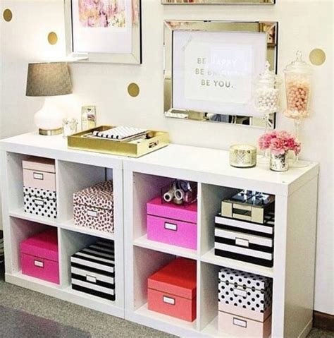 Decorative Paper Storage Boxes With Lids Cute Organization Room Diy Room Decor Image