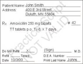 sle prescription