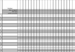 Printable Gradebook Template by Gradebook Template Printable Search Results Calendar 2015