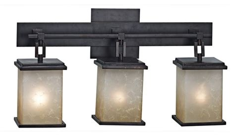 Craftsman Bathroom Lighting Corteo Collection Three Light Bath Light Fixture Craftsman Bathroom Vanity Lighting