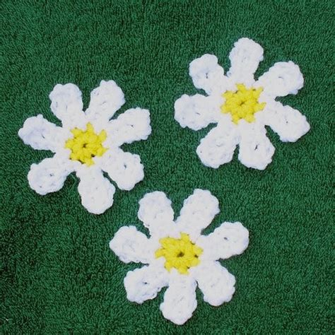 flower applique debs crochet easy crochet flower applique