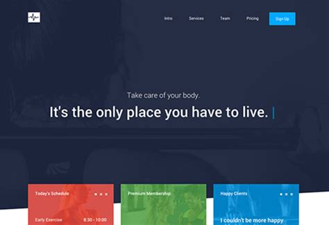 bootstrap themes gym 12 great free bootstrap themes creative bloq