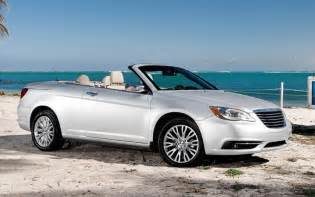 Chrysler Convertible 2012 The 2012 Chrysler 200 Convertible Is An Easy Cruiser With